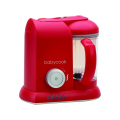 Beaba Parné varič + mixér BABYCOOK SOLO červený