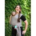 Boba nosič detí / šatka Boba Wrap - Grey