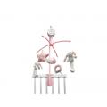 Little Dutch plyšový kolotoč zajačiky ružová