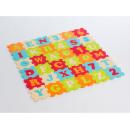 Ludi puzzle penové 90 x 90 cm písmená a čísla