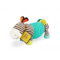 B-Toys Ťahacia harmonika zebra Squeezy Zeeb
