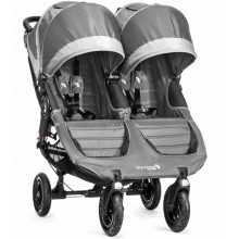 Baby Jogger CITY MINI GT DOUBLE 2016/2017 - steel