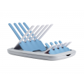 Beaba skládací odkapávač kojeneckých lahví šedá modrá