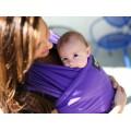 Boba nosič detí / šatka Boba Wrap - Purple