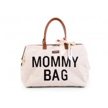 Childhome taška Mommy Bag Teddy Off White