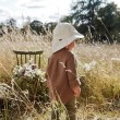 Elodie Details klobúčik proti slnku Sun hat Tender Blue Dew 12-24m