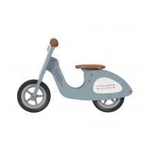 Little Dutch Drevené Scooter modré