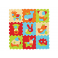 Ludi puzzle 90x90 cm zvieratká