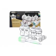 Tommee Tippee sada kojeneckých fľaštičiek C2N s kefou