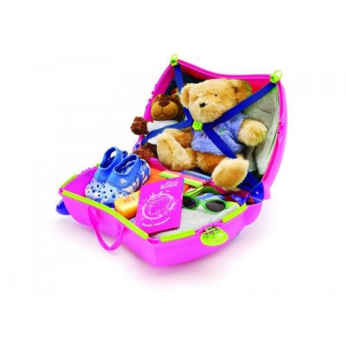 f936a74319372 TRUNKI detský kufor na kolieskach Trixie